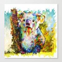 koala Canvas Prints featuring Koala  by ururuty