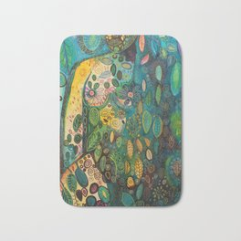 Kissed by the sky Bath Mat