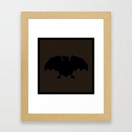 Magick Bat Framed Art Print