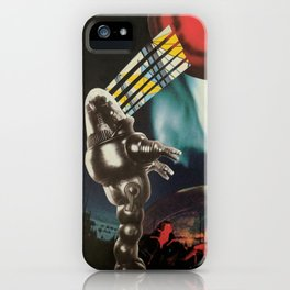 Red Planet Collage iPhone Case