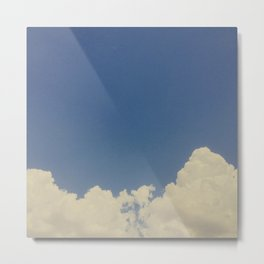 CLOUDS VI (VINTAGE) Metal Print