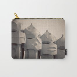 Gaudi's Chimneys Carry-All Pouch
