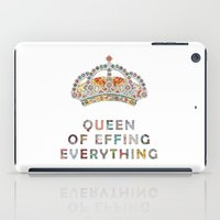 custom iPad Cases featuring her daily motivation by Bianca Green
