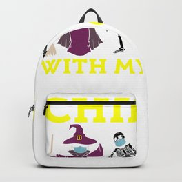 Chillin With My Creeps Backpack
