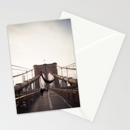 Afternoon in Brooklyn Stationery Cards