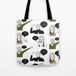 A Medley Print Tote Bag