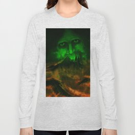 In The Dark Of The Night Long Sleeve T-shirt