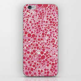 I´m too sad by Yayoi kusam iPhone Skin