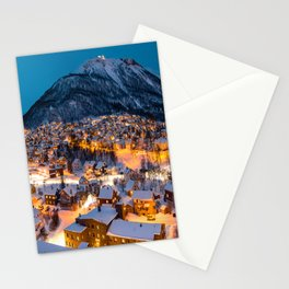 Midnight in Norway Stationery Cards
