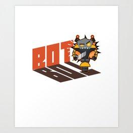 Battle Bot Robot Wars Art Print