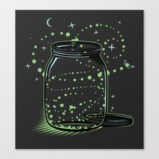 The Empty Jar of Fireflies Canvas Print