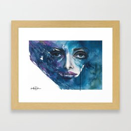 Consuming Framed Art Print