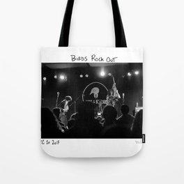 Birds in the Boneyard, Print Seven: Birds Rock Out! Tote Bag