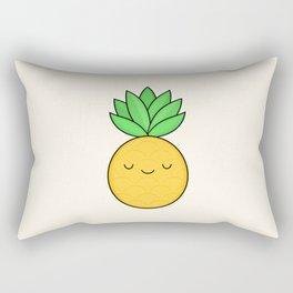 Happy Pineapple Rectangular Pillow