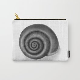 Snail shell, painted with graphite Carry-All Pouch