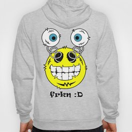 FREAKIN' Big Smile Emoticon! Hoody