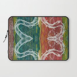The Mutual Appreciation Paradox (Resistance of Magnetic Entanglement) (Reflection) Laptop Sleeve