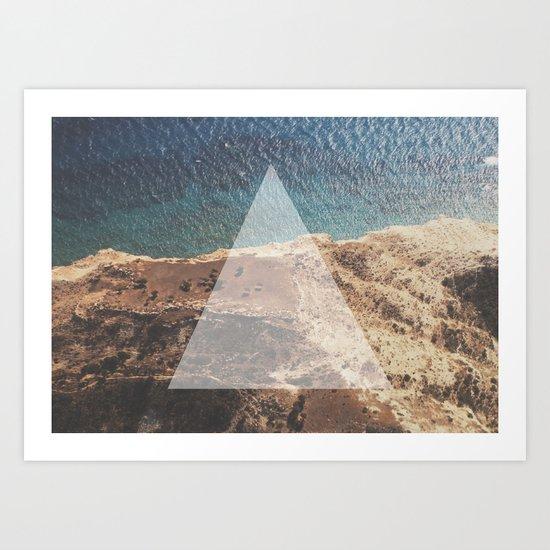 Simple Geometry v2 Art Print