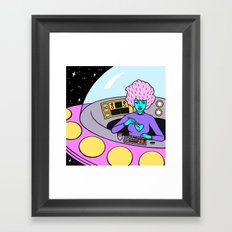 LUNCH BREAK Framed Art Print