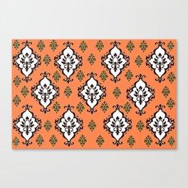 Orange Villa Canvas Print