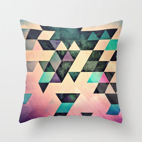 Xtyrrk Throw Pillow by Spires Society6