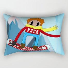 Ski moda-foca Rectangular Pillow