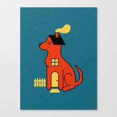 DogHouse Canvas Print