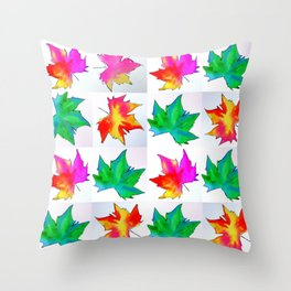 Watercolor prints Throw Pillow
