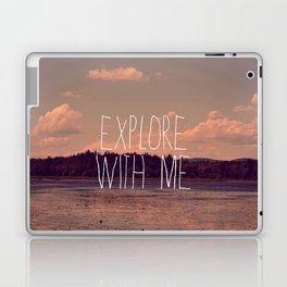 Explore With Me Laptop & iPad Skin