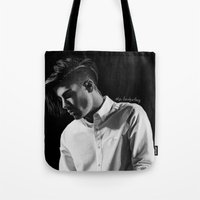 zayn Tote Bags featuring zayn by otp-hedgefrog