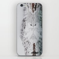 wes anderson iPhone & iPod Skins featuring Anderson Lake by Kevin Russ
