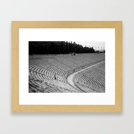 Edge of History Framed Art Print