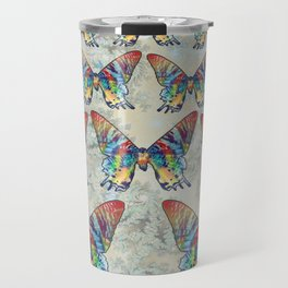 butterfly in the sky Travel Mug