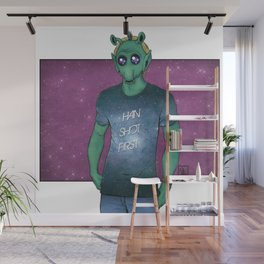 Hipster Greedo Wall Mural