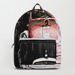 Dodge fire Truck Backpack