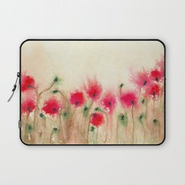 Field of Poppies  Laptop Sleeve