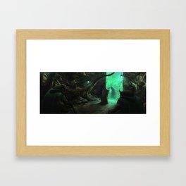 Owl Seer Framed Art Print