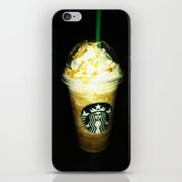 starbucks iPhone & iPod Skins featuring Starbucks by bobbierachelle