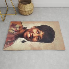 Aretha Franklin, Music Legend Rug