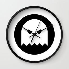 Halloween Ghost Ideology Wall Clock