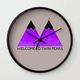 TWIN PEAKS Wall Clock