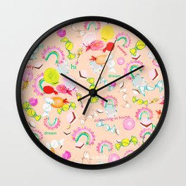 CANDY IN DREAM Wall Clock