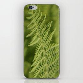 Jane's Garden - Fern Fronds iPhone Skin