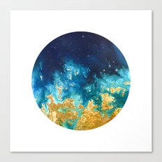 Abstract planet Canvas Print