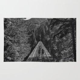 Vance Creek Bridge, Shelton, WA Rug