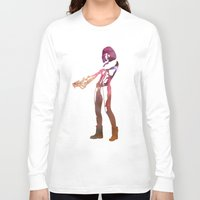 fifth element Long Sleeve T-shirts featuring Leeloo - the Fifth Element by pithyPENNY