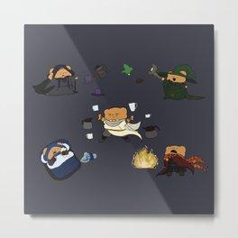 All Magic Bers (The Best Bers) Cast Coffee1! Dark Print Metal Print