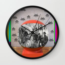 Space Case Wall Clock