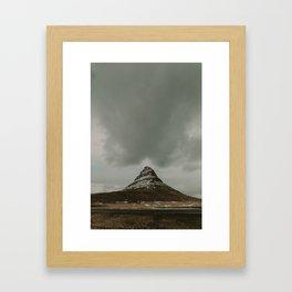 Iceland Kirkjufell Mountain Framed Art Print