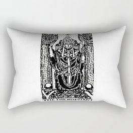Modern Tarot Design - 5 The Hierophant Rectangular Pillow